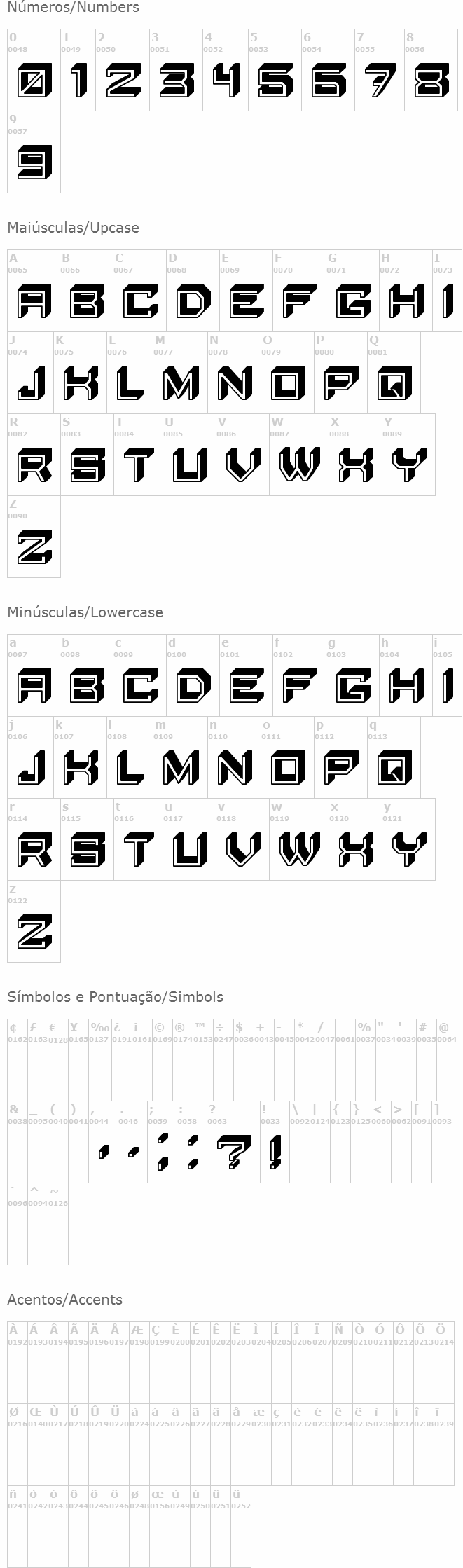 Blocky Letters
